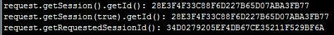 集群获取的sessionid不一样,getSession().getId()与getRequestSessionId()的区别
