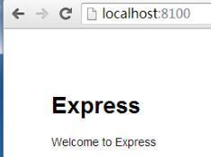 Express安装入门与模版引擎ejs的使用和语法